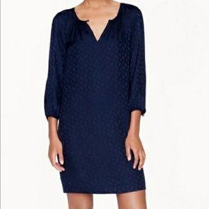 Gorgeous to al silk paisley dress